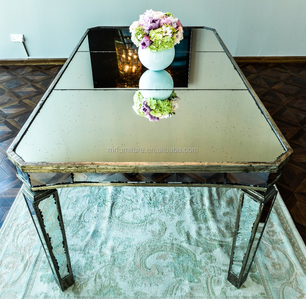 Antique Mirrored Dining Table Buy Wooden Frame Mirror