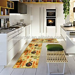 Kitchen Runner Mat White Table And Chairs Modern Carpet Rug Buy