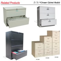 Three Drawer Lateral Drawer Medical File Cabinet / Legal ...