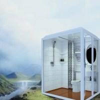 Portable Integral Prefab Modular Bathroom Unit Pod Shower ...