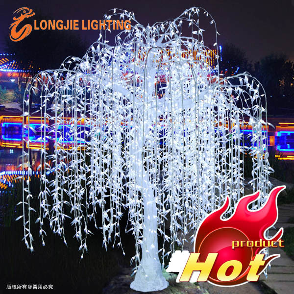 Outdoor Waterproof Artificial Led Weeping Willow Tree