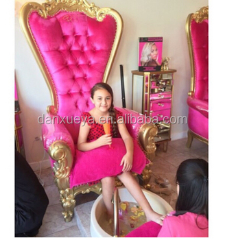little girl chairs mermaid chair covers ideas pretty princess throne luxury royaty pedicure