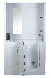 Tub shower combo walk in/walk-in shower enclosure/elders ...
