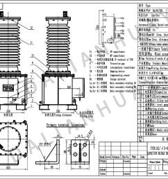 115kv capacitor voltage transformer vt pt [ 2000 x 1414 Pixel ]