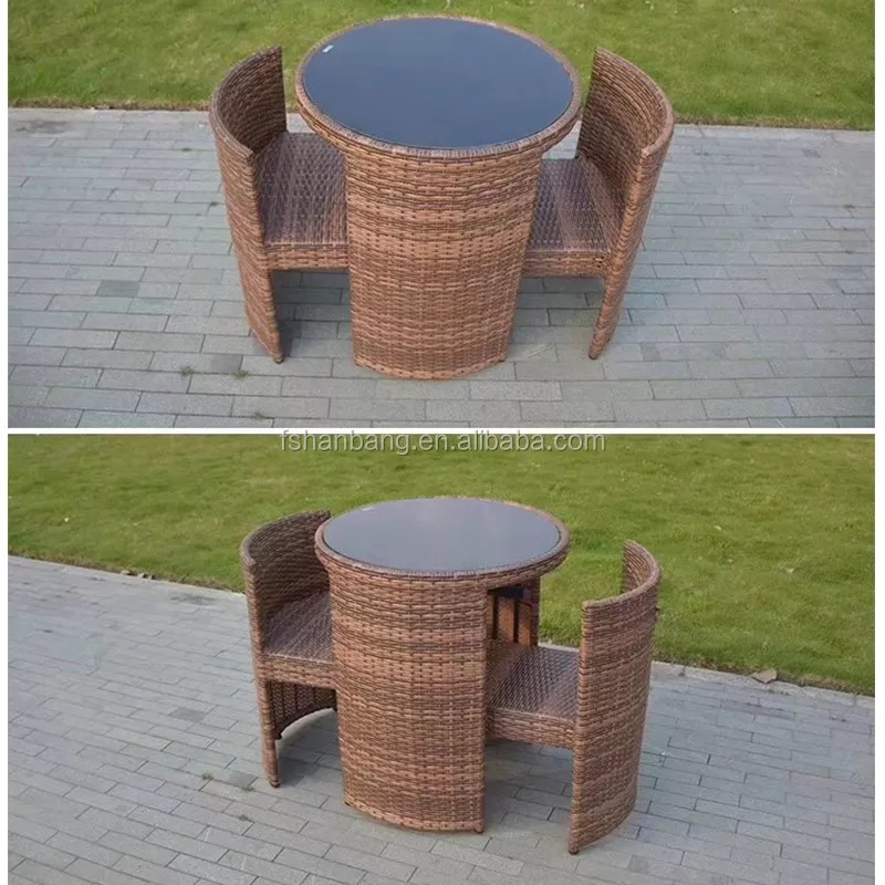 unique outdoor garden furniture rattan coffee table set for coffee shop view coffee table set hanbang product details from foshan hanbang furniture
