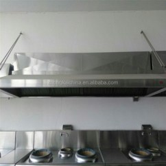 Kitchen Exhaust Vent 4 Piece Appliance Package Zhongkai China Best Powerful Range Hood Commercial With Esp