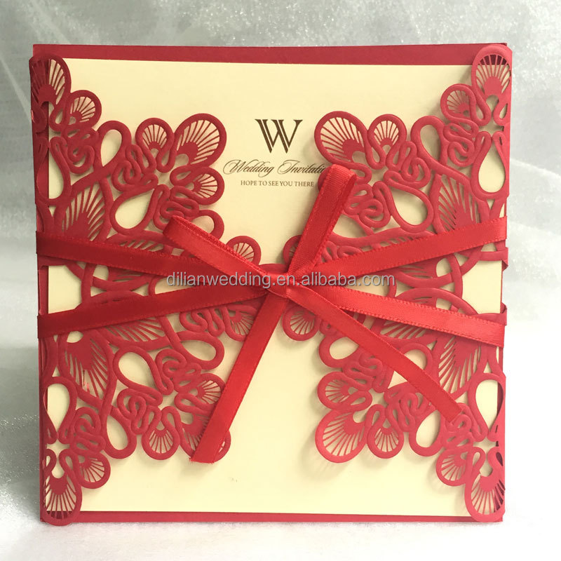 Por Style In Uk Usa Middle East Africa S Shape Invitation Cards Wedding