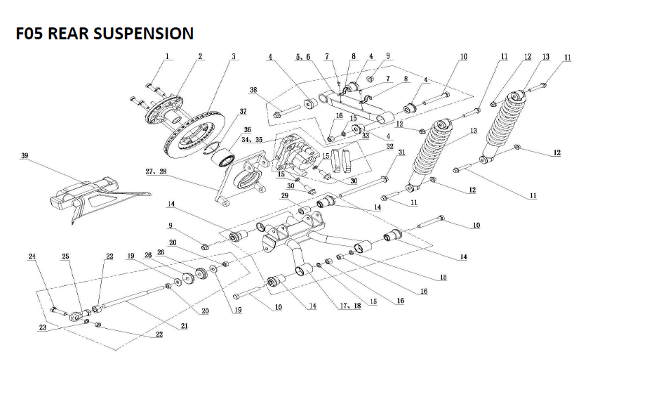 Radiator for XY3OOUTV, XY500UTV, XY600UTV, MSU300, MSU600