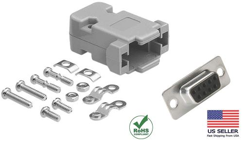 small resolution of get quotations compucableplususa com best db9 female solder cup connector kit with plastic hood best complete db9