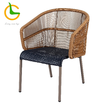 all weather garden chair small accent chairs brown known down stacking wicker view
