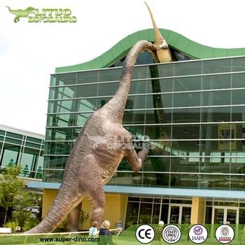 fiberglass giant dinosaur statue