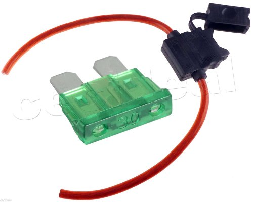 small resolution of buy 8 gauge inline atc fuse holder with 30 amp fuse with cover new car truck
