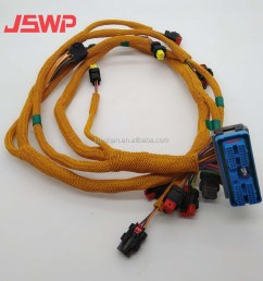 engine wiring harness 296 4617 for caterpillar cat 320d c6 4 engine [ 1000 x 1000 Pixel ]