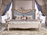 Royal Luxury Bedroom Set,Classic French Elegant Bed