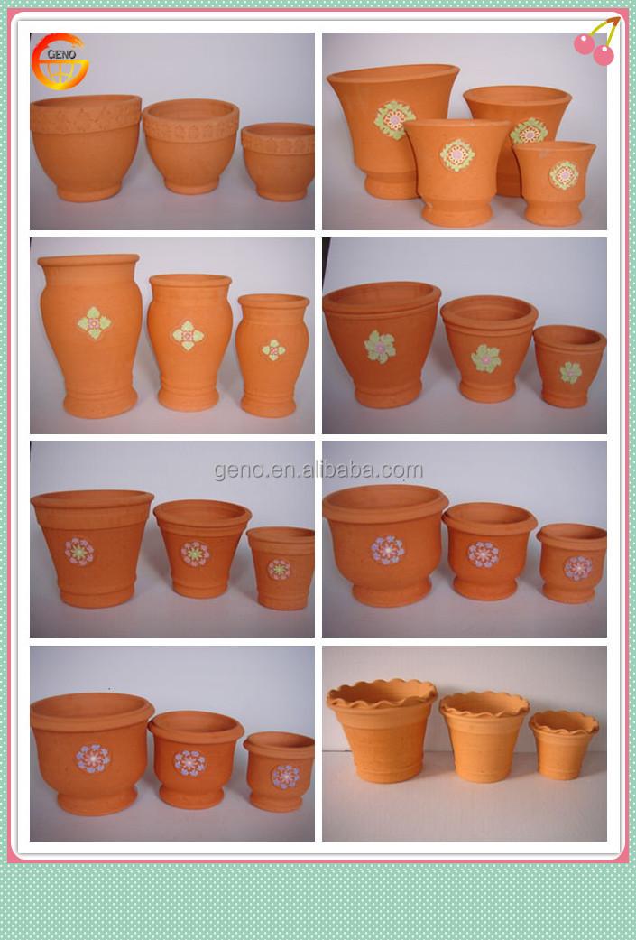 Mini Terracotta Flower Pots