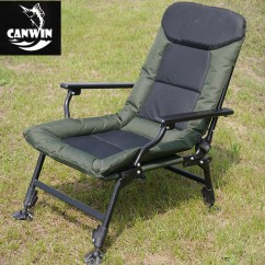 Fishing Chair With Adjustable Legs Ballard Design Covers Folding Carp Bed Chairs