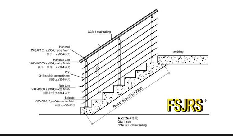 clear plastic handrail acrylic balustrades railings, View