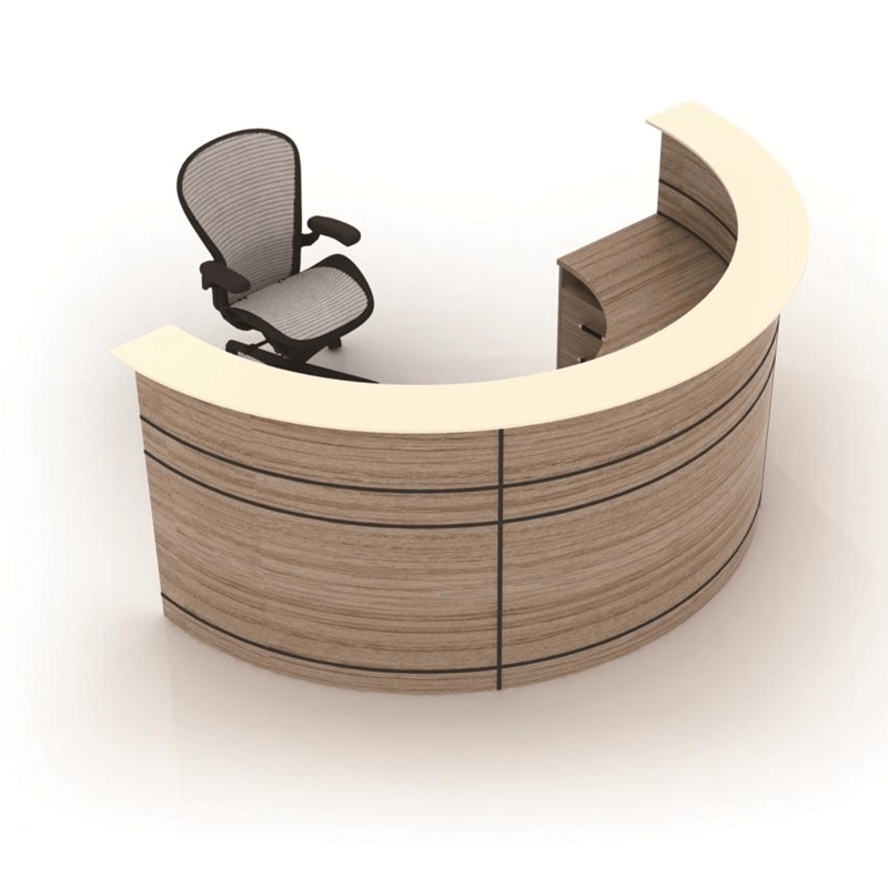 Wholesale Modern Style Wooden Office Small Round Reception