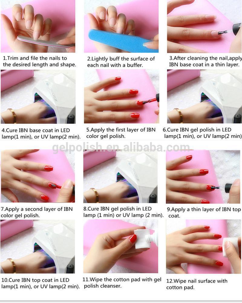 Vogue Nail Polish At Home 3 Steps Gel