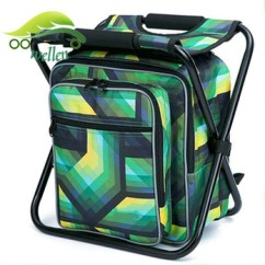 Fishing Cooler Chair Electric Reclining High Quality Custom Outdoor Bag Foldable Seat