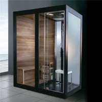 Sauna Steam Shower Combination Multifunctional Steam Sauna ...
