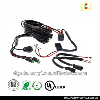 Fog Light Wiring Harness With Installation Wiring Harness