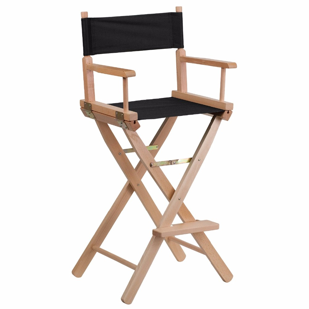 Wholesale Bar Height Folding Wooden Director Chair Parts