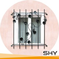 Decorative Wrought Iron Round Windows Grills Design That ...