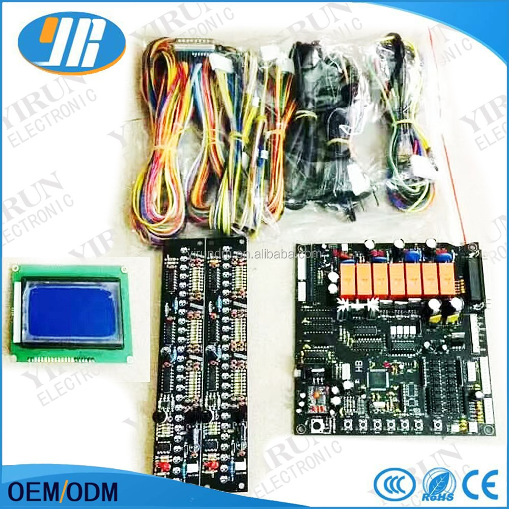 hight resolution of taiwan mother board crane game pcb slot game board with wire harness 7 hardware