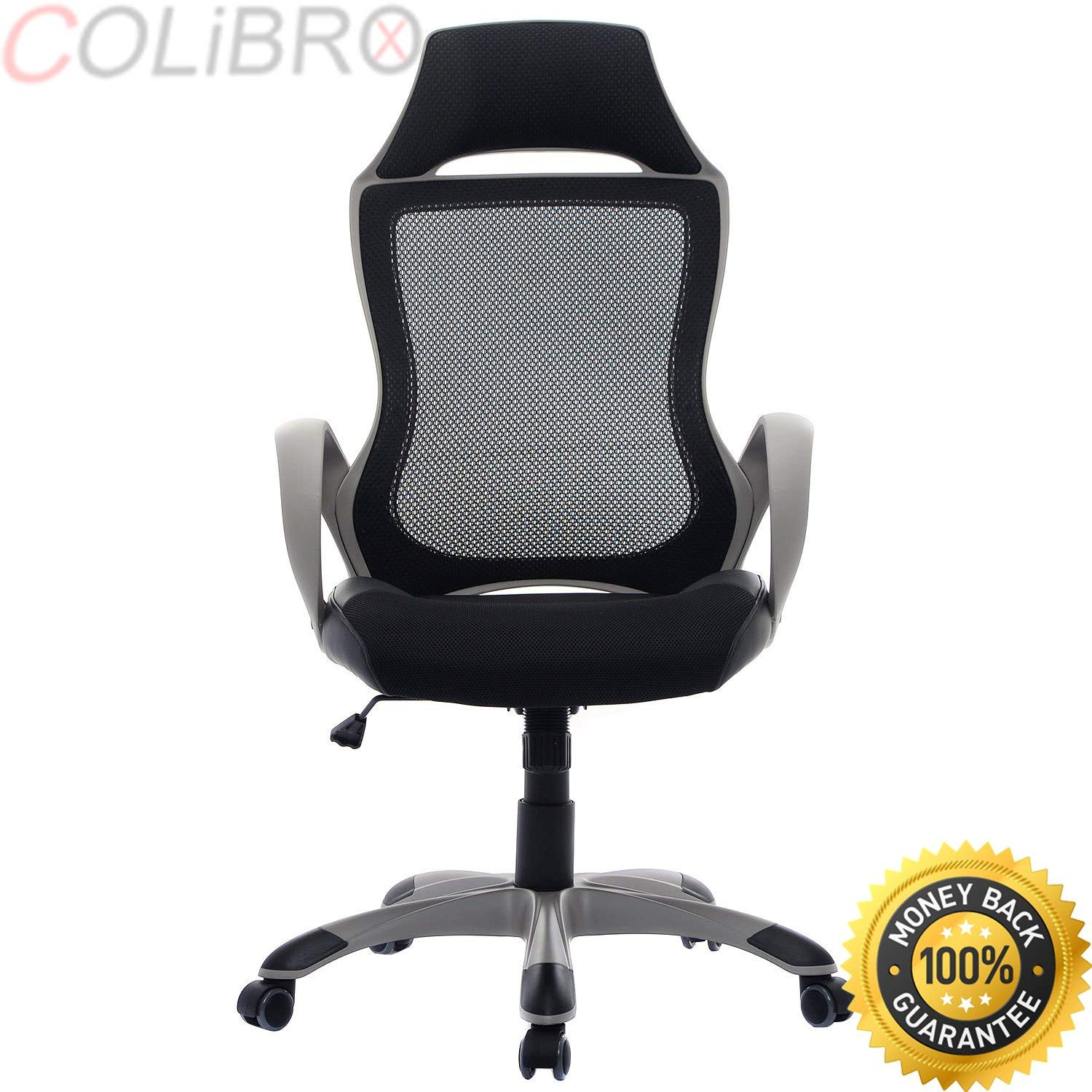 ergonomic office chair amazon bedroom hanging with stand cheap best find get quotations colibrox new modern executive mesh high back computer desk task