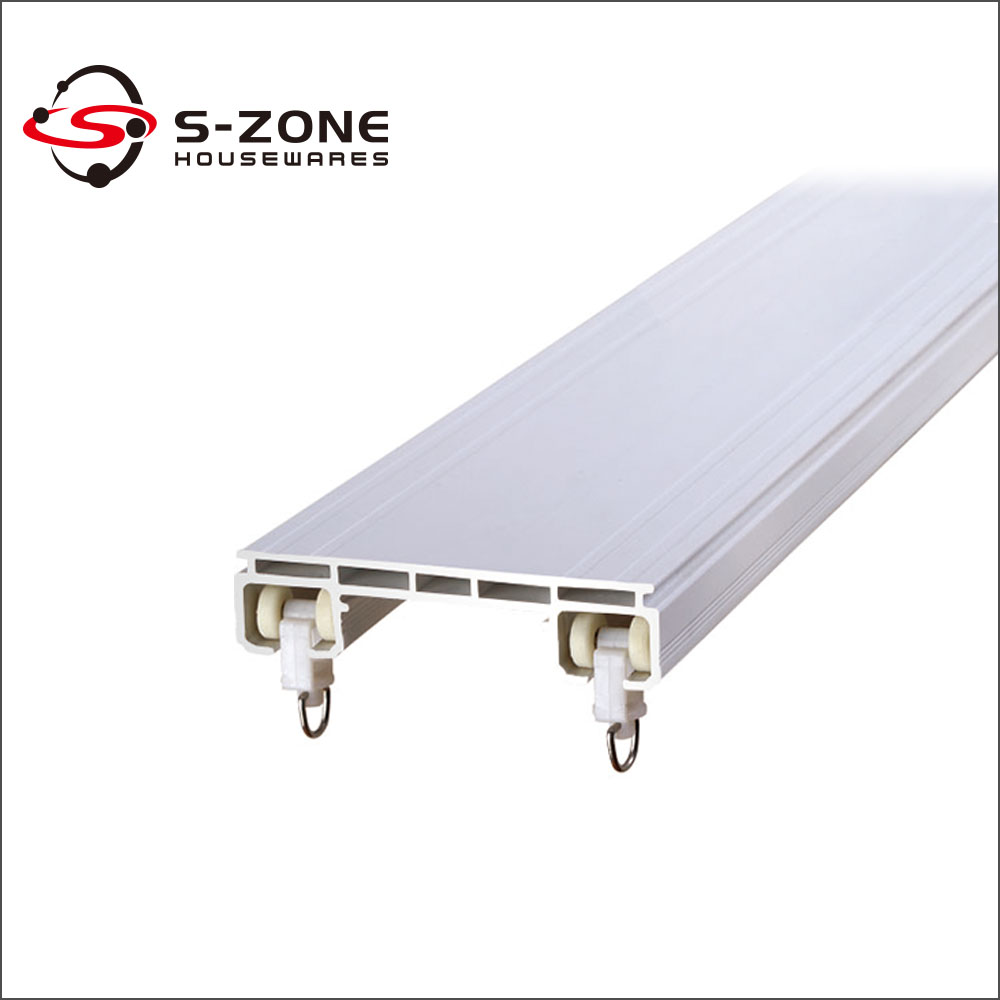 Double Rail Curtain Track Accessories Aluminum And Plastic Buy