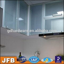Aluminum Kitchen Cabinets Modern Sink Faucets Design Profile Frame Cabinet Glass Door For Popular In