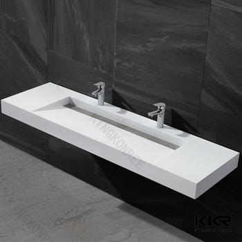 60 Inch White Trough Bathroom Sink  Buy Bathroom Sink