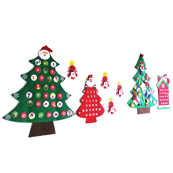 Diy Handmade Felt Christmas Ornament Wall Hanging Tree Buy Felt Christmas Tree Kit Felt Christmas Ornament Kits Christmas Tree Made Of Felt Product On Alibaba Com