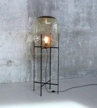 Decorative Glass Floor Lamp Oda Big Floor Standing Lamp ...