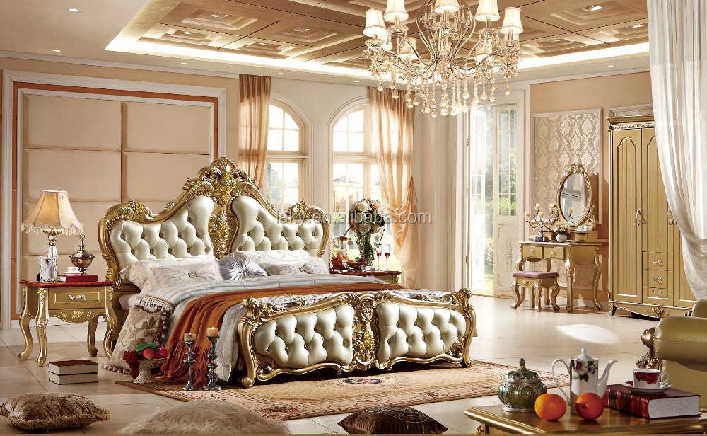 0313 Italian Royal Bedroom Furniture Set  Buy European