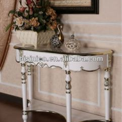 Wall Tables For Living Room Dark Brown Curtains New Classical Console Table Side Furniture Moq