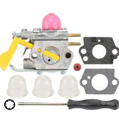 get quotations milttor c1u w18 carburetor primer bulbs gaskets adjustment tool fit craftsman 358791520 358791370 358791620 944514360 [ 1000 x 1000 Pixel ]