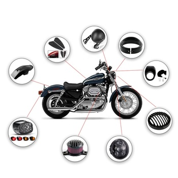 Custom China Wholesale Motorcycle Parts Accessories
