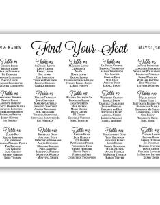 Get quotations black and white wedding seating chart sign poster also cheap etiquette find rh guideibaba