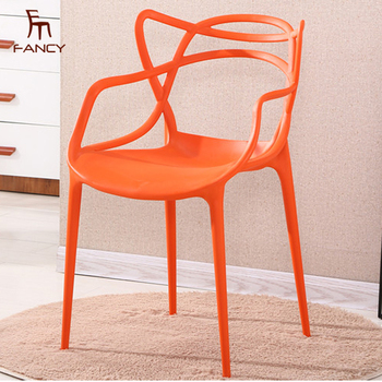 modern plastic chair design in nigeria chairs furniture orange fancy home