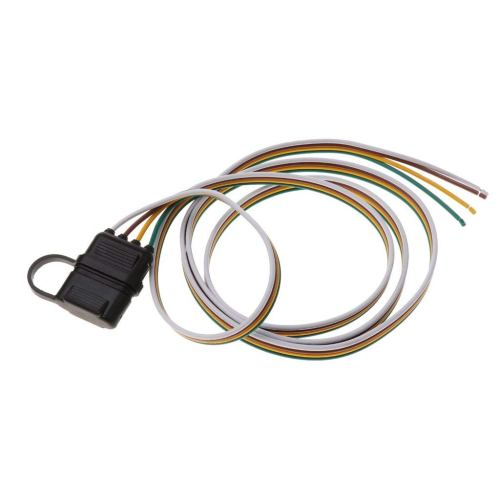 small resolution of get quotations magideal 152cm 4 pin rv trailer light wiring harness line plug adapter flat cable connector