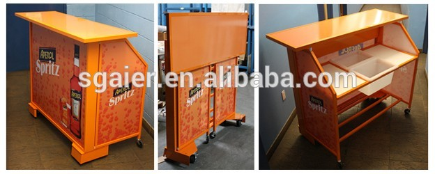 Portable CounterFolding Bar Table For Club And Event