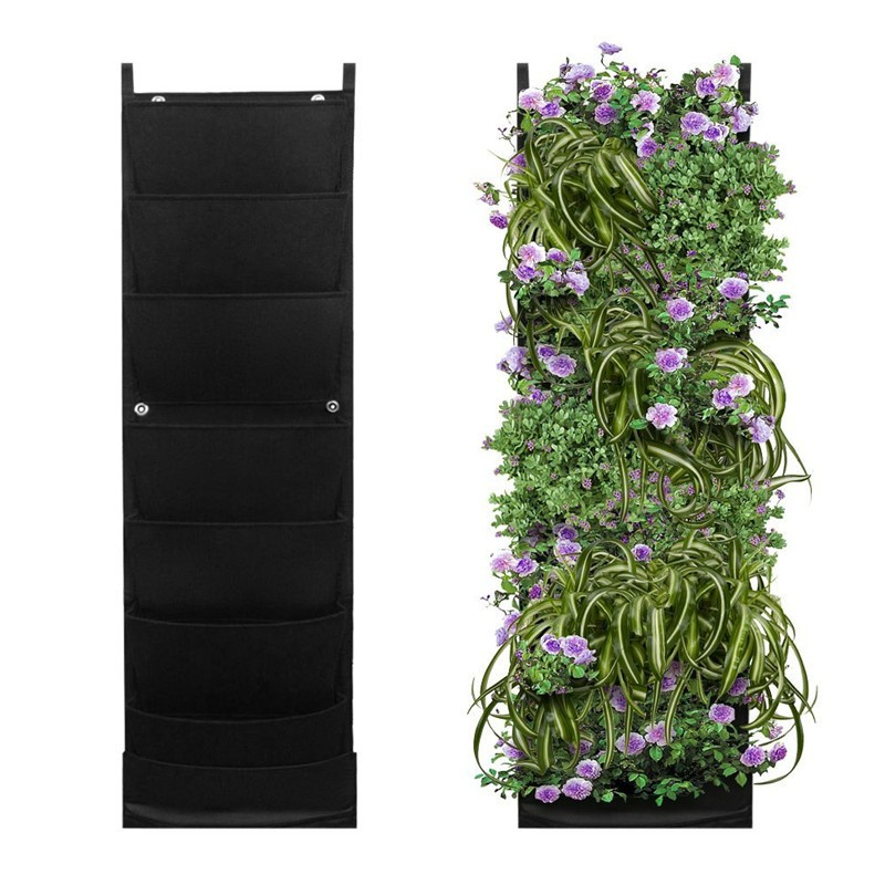 hanging chair rona restaurant indoor and outdoor wall planter vertical felt plant bag for plants grow - buy garden ...