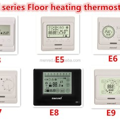 Honeywell Fcu Thermostat Wiring Diagram Single Phase Energy Meter Menred E51 E91 Ce Digital Buy Temperature