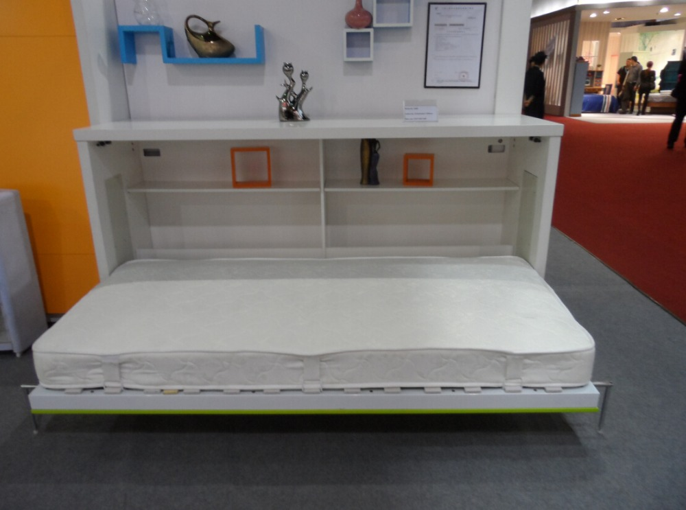 Space Saver Wooden Wall Bed2013 Innovative Free Standing