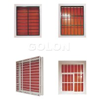 Latest Modern Simple Steel/aluminum/iron Window Grill ...