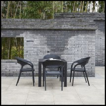 Outdoor Furniture Plastic Rattan Tables And Chairs