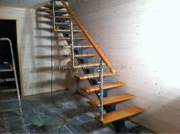 Modern Steel Wood Staircase/steel Beam Stairs - Buy Steel ...