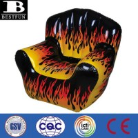 China Factory Inflatable Flame Chair Vinyl Portable ...
